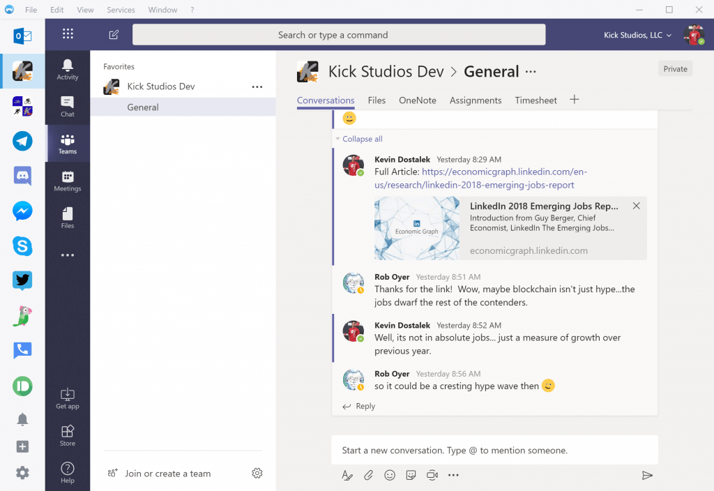 Using Multiple Microsoft Teams Tenants and Accounts - Kick